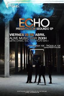 Concierto de Stereozone y Echo en Sala Alive