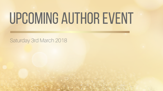 Upcoming Author Event