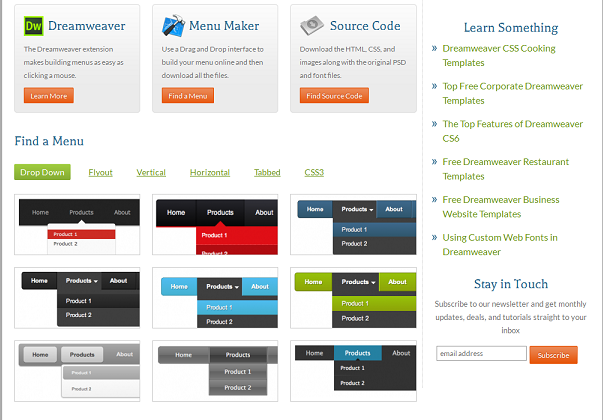 School Website Templates Free Download Html With Css Jquery Menus