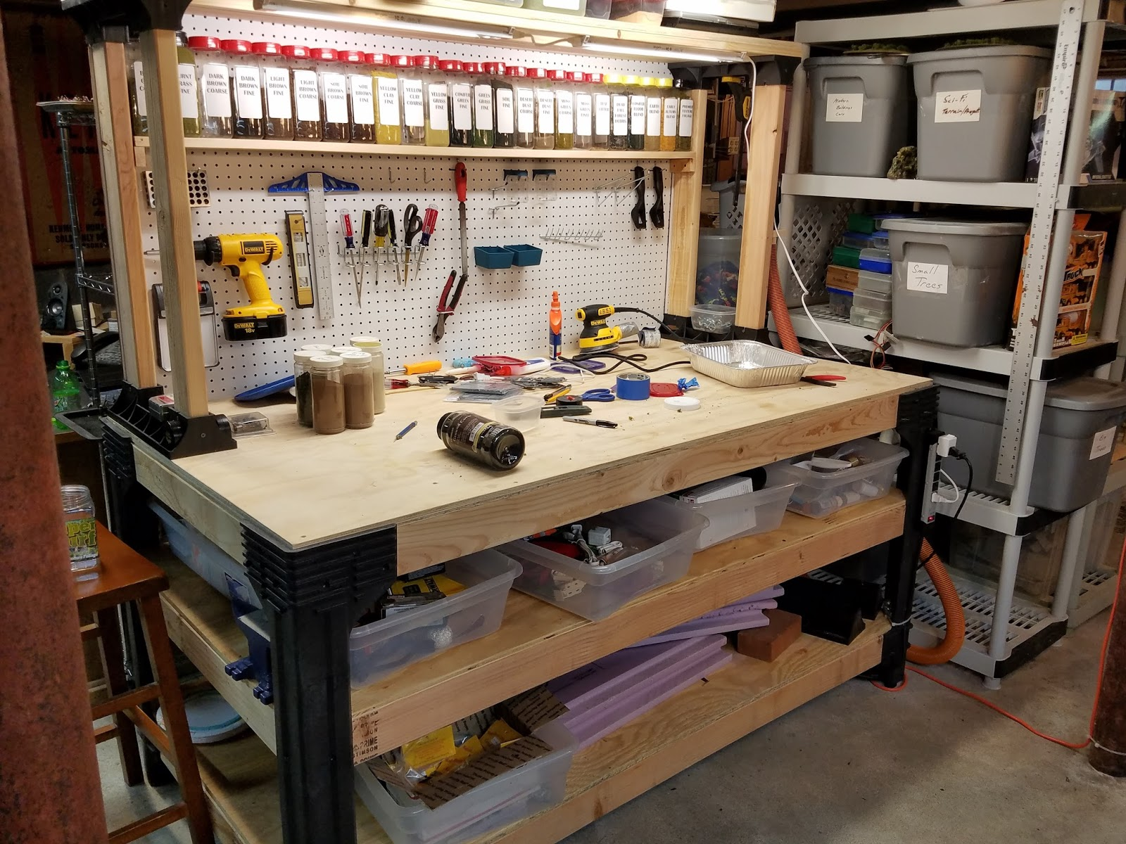 Xin S Lair Upgrading My Workbench