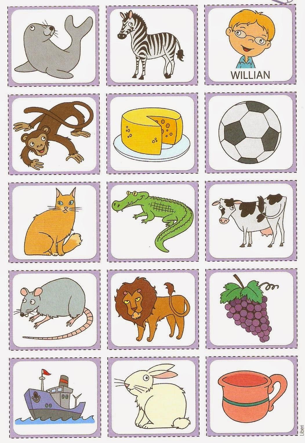 Caixinhas De Letras Formar E Analisar Palavras S Escola -> Desenhos Para Alfabeto Ilustrado