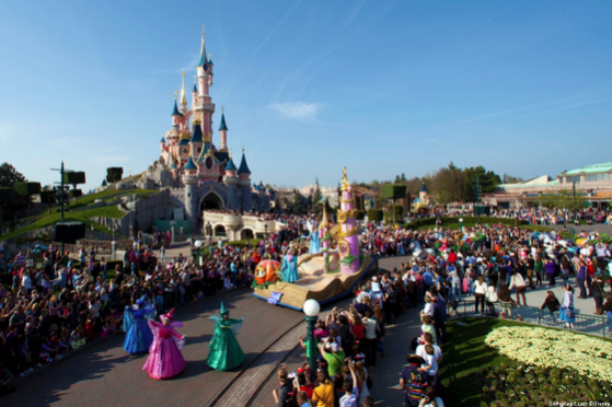 Disneyland Paris in Summer