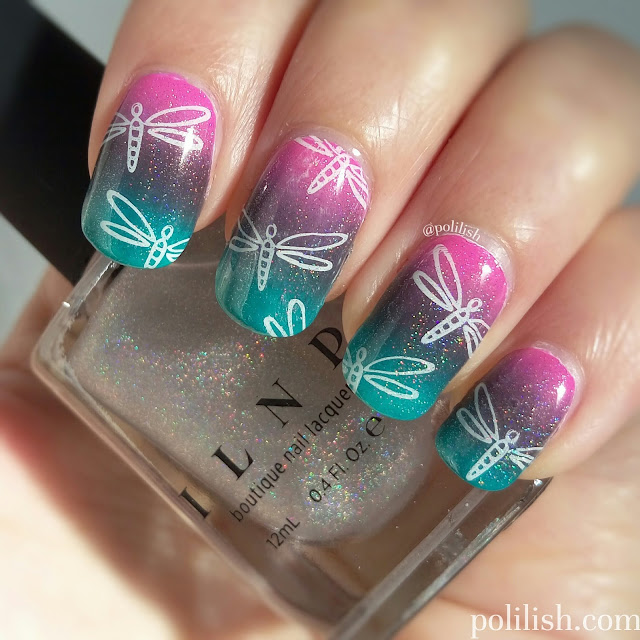 Dragonfly nails by polilish