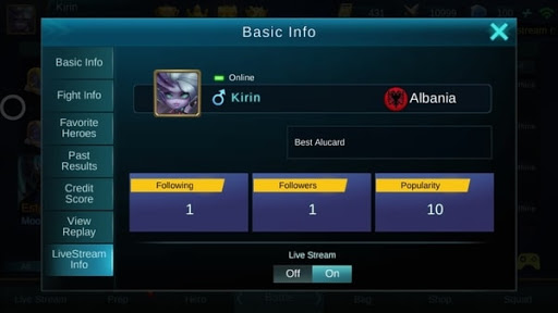 How to Livestream a Game in Mobile Legends