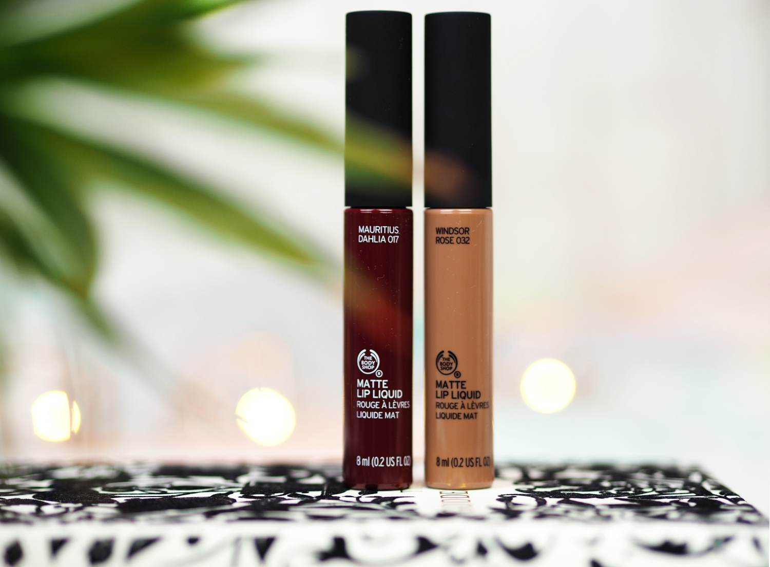 The Body Shop Matte Lip Liquids Review Swatches