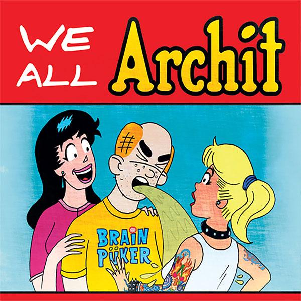 "Brainpüker release remaster for ""We All Archit"""