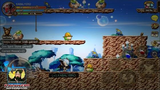 Gamer's Log, Game Date 3.31.2016 ★ Fought Sleepy Grobblers In Pocket MapleStory SEA