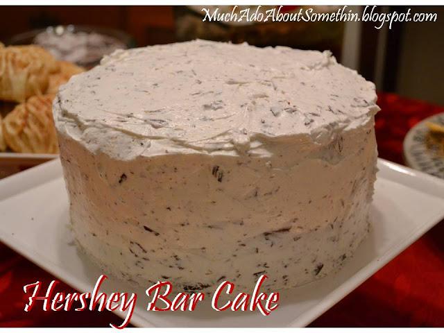 Christmas Cake Icing Recipe No Eggs: Much Ado About Somethin: Hershey Bar Cake