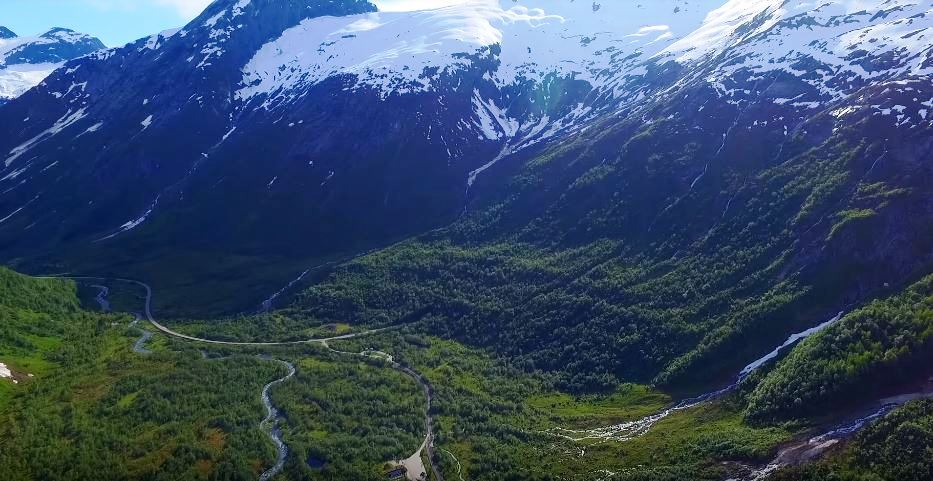 Jostedalsbreen National Park, Norway -  Encompasses the Largest Glacier on the European Mainland