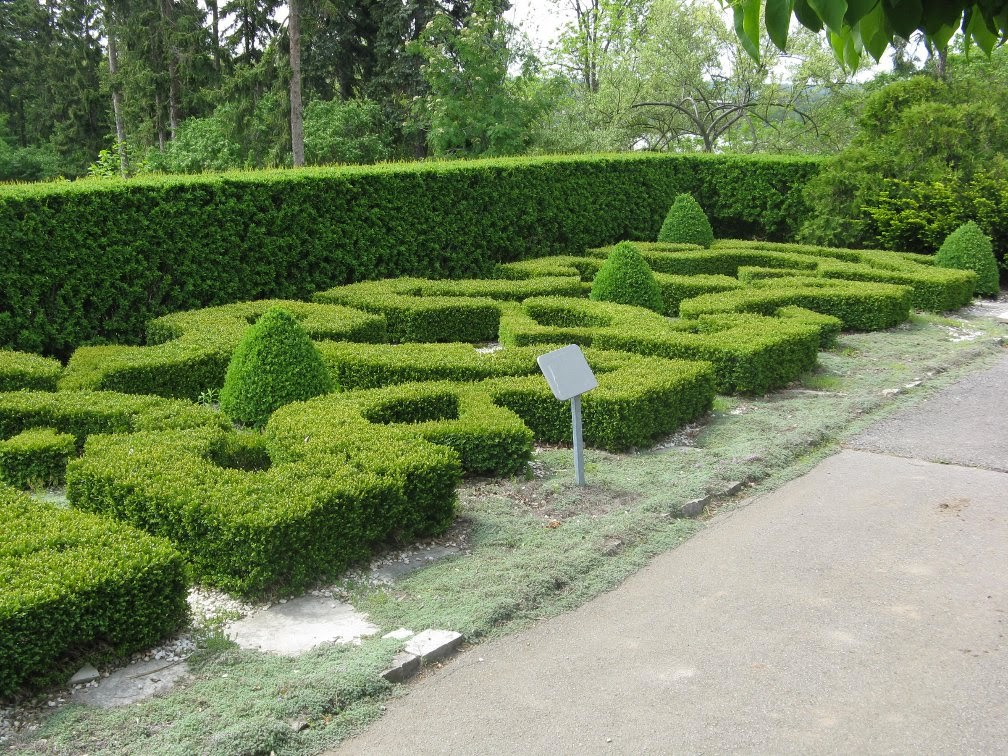 Royal Botanical Gardens Laking  knot garden by garden muses-not another Toronto gardening blog