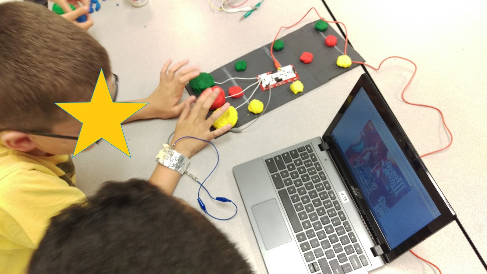Polka Dots Amp Protons Makey Makey In The Classroom
