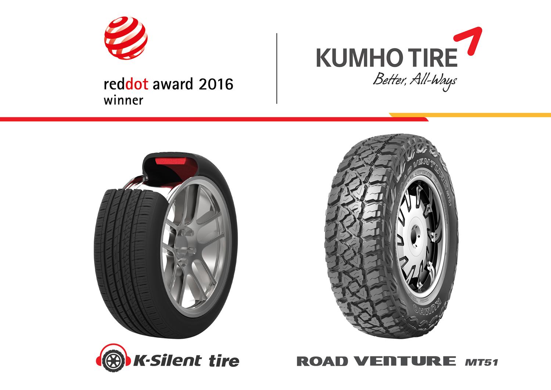 Η Kumho απέσπασε βραβείο Red Dot για 5η συνεχή χρονιά
