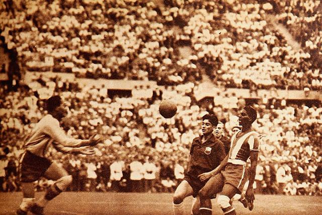 Chile y Panamá en Campeonato Panamericano 1952, 16 de marzo