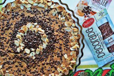 Magiczne ciasto migdałowe z czekoladą