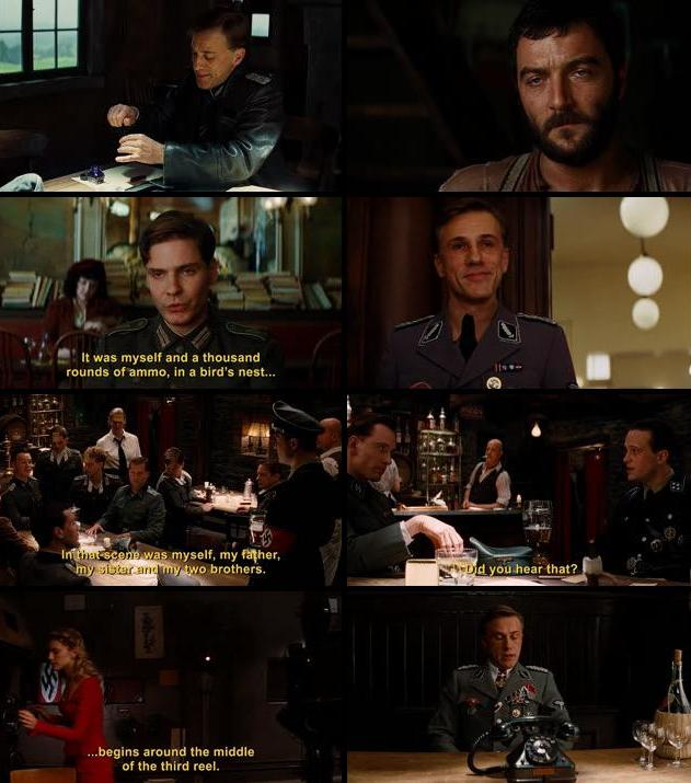 Inglourious Basterds 2009 Dual Audio Hindi 480p BluRay