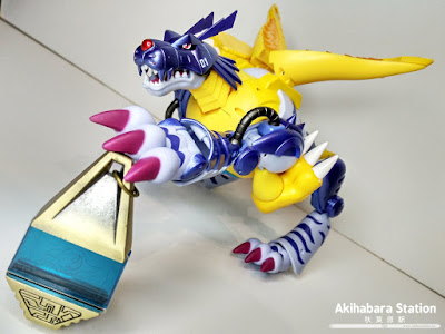 "Figuras: Reseña de ""Digivolving Spirits 02. Metalgarurumon"" de Digimon Adventure - Tamashii Nations"