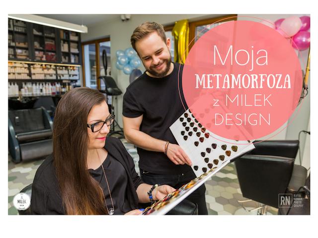 Metamorfoza fryzury z Milek Design - Ombre z Olaplexem i ostre cięcie.