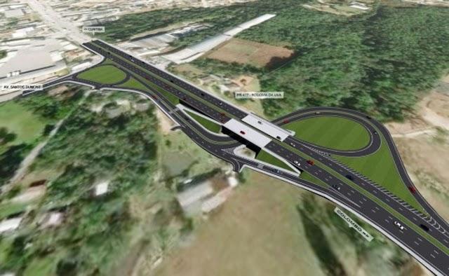 Rodovia da Uva vai ganhar dois viadutos