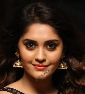 Tollywood Actress Surbhi Beautiful Earring Face Closeup Pictures (2)