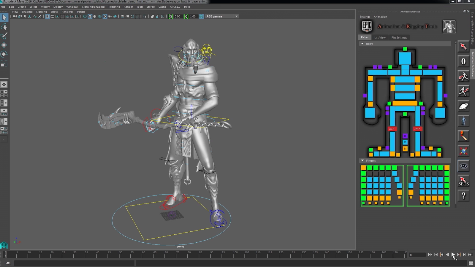 Character Design Unreal Engine 4 : Ue animation and physics technical showcase at gdc
