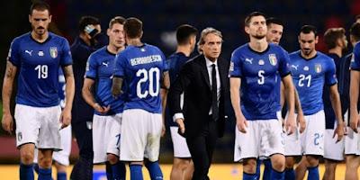 Ditahan Polandia, Bonucci anggap Italia main terlalu terburu-buru