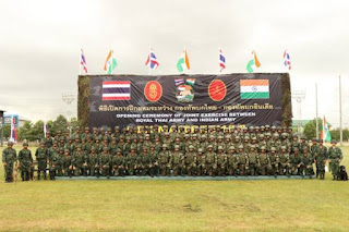 Indo-Thailand Joint Exercise Maitree 2018 Highlight with Details
