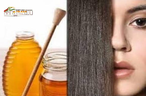 ماسك العسل وتنعيم الشعر