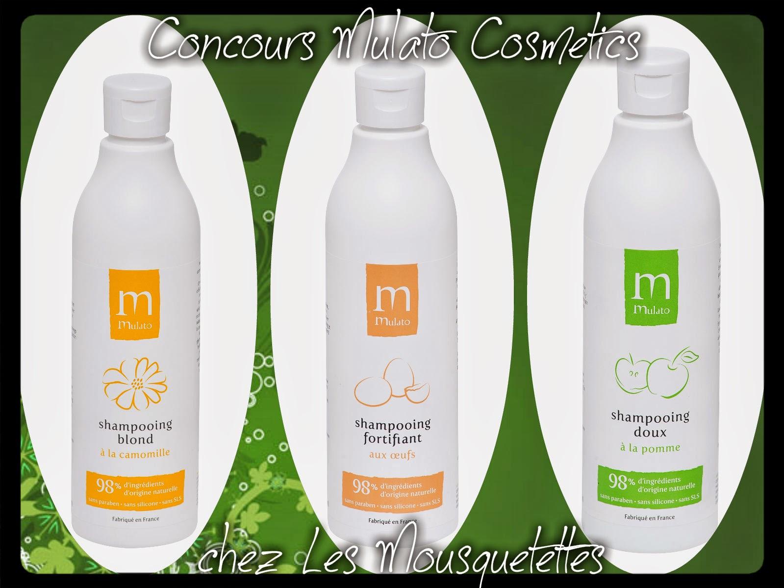 Concours Mulato Cosmetics - Les Mousquetettes© Résultat