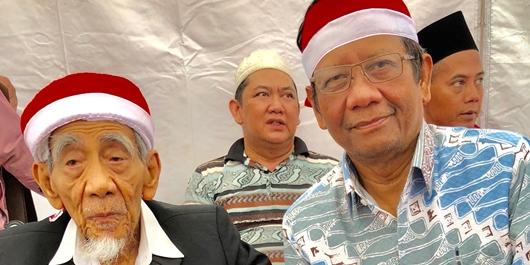Orasi Apel Kebangsaan, Mahfud MD: Menjaga NKRI Itu Penting, Titik!