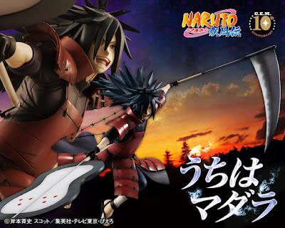 """G.E.M Uzumaki Madara Uchiha de """"Naruto Shippuden"""" - Megahouse"""