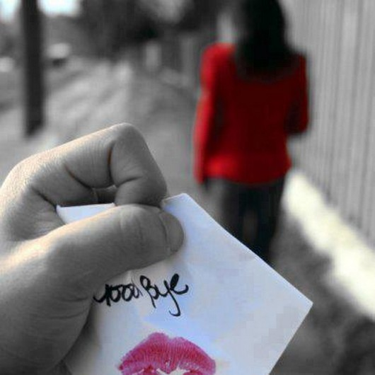 Say Good Bye Broken Heart Love Hurts
