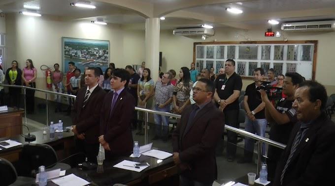 EM ITAITUBA: ACONTECEU NA MANHÃ DESTA QUARTA-FEIRA (27/06/2018) A SESSÃO DE ENCERRAMENTO DAS ATIVIDADES DO PRIMEIRO SEMESTRE DO PODER LEGISLATIVO