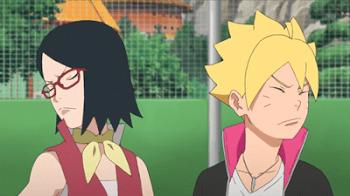 Boruto - Naruto The Next Generatión Capítulo 4: Guerra de sexos ninja