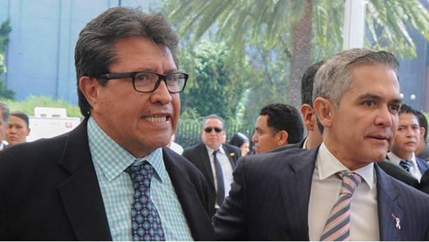 Mancera ha hecho un excelente trabajo en la CDMX: Ricardo Monreal