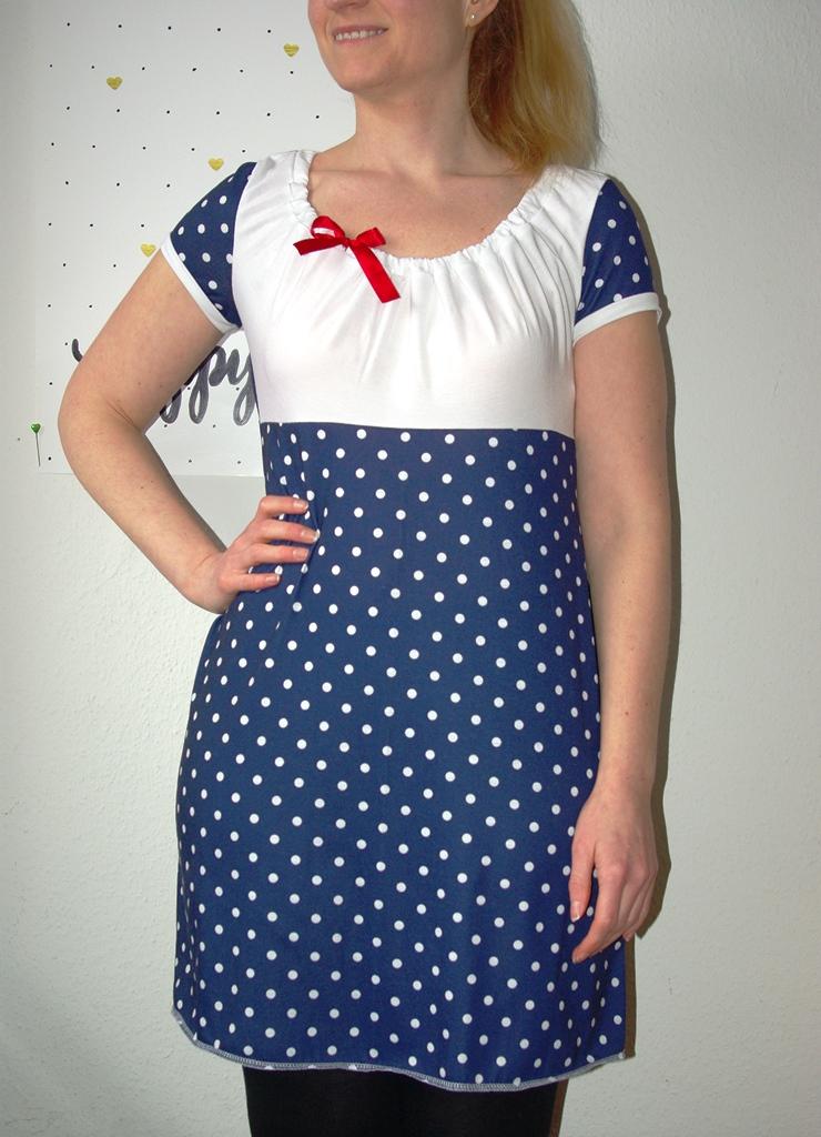 Kleid Ferrara von Schnittbox Nähblog