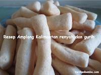 Resep dan cara membuat Amplang Kalimantan yang renyah dan gurih