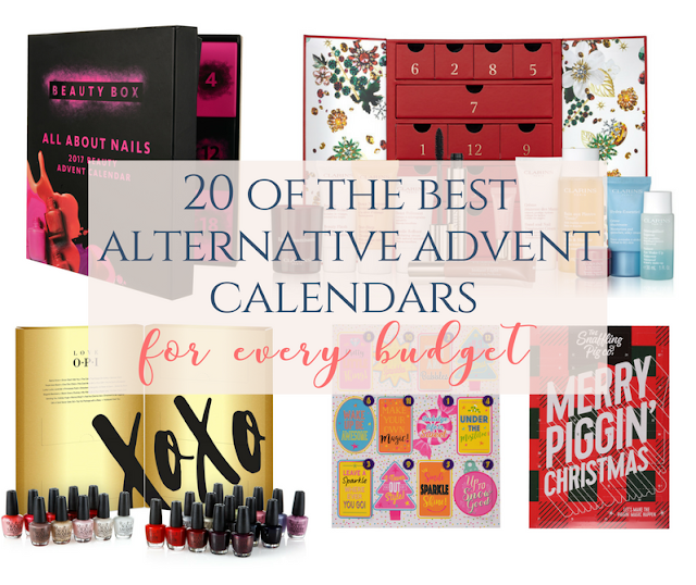 Affordable alternative Christmas advent calendars available on the high street 2017. Selfridges advent calendar, beauty calendar, prosecco advent calendar, pork scratching advent calendar, yankee candle advent calendar, Laura Ashley advent calendar, green tea advent calendar, l'occitaine advent calendar, Sephora advent calendar, jack wills advent calendar, the white company advent calendar, coffee advent calendar