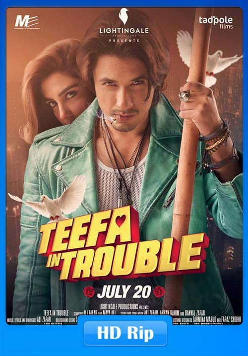 Teefa in Trouble 2018 Hindi 720p HDRip x264 | 480p 300MB | 100MB HEVC Poster