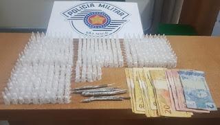 Adolescente é apreendido pela Polícia Militar em Registro-SP por tráfico de drogas