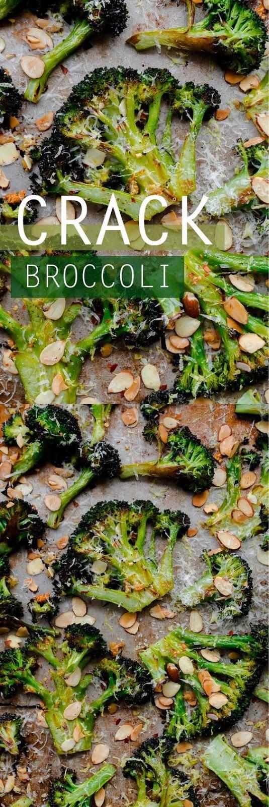 CRACK BROCCOLI (BEST ROASTED BROCCOLI RECIPE) #crack #broccoli #roasted #vegetarian #vegetarianrecipes #veggies #vegan #veganrecipes