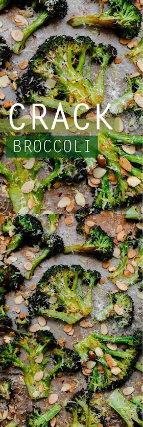CRACK BROCCOLI (BEST ROASTED BROCCOLI RECIPE)