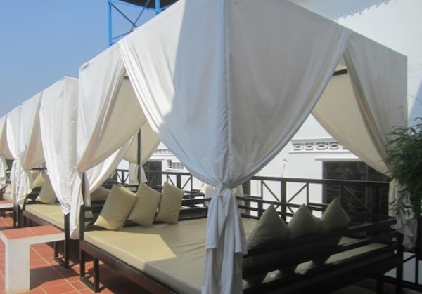 Luxury Lounges at Mad Monkey Hostel, Siem Reap