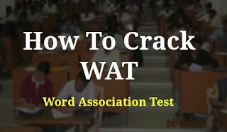 What is Word Association Test (WAT) ?