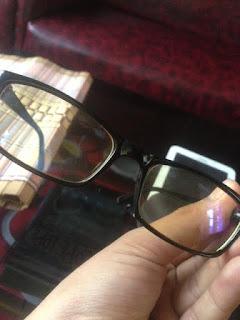 review pengalaman menggunakan kacamata anti radiasi kateluo asli original