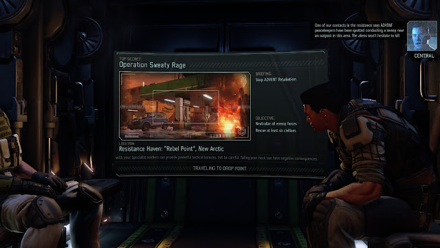 Screenshot of Operation Sweaty Rage in XCOM 2