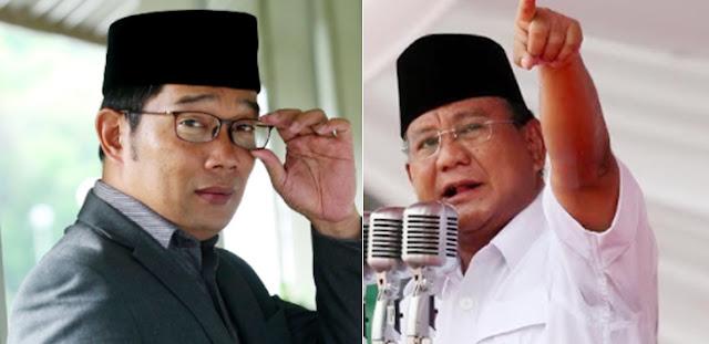 RK Bisa seperti Sekarang karena Tangan Dingin Prabowo, Jangan Kacang Lupa Kulit
