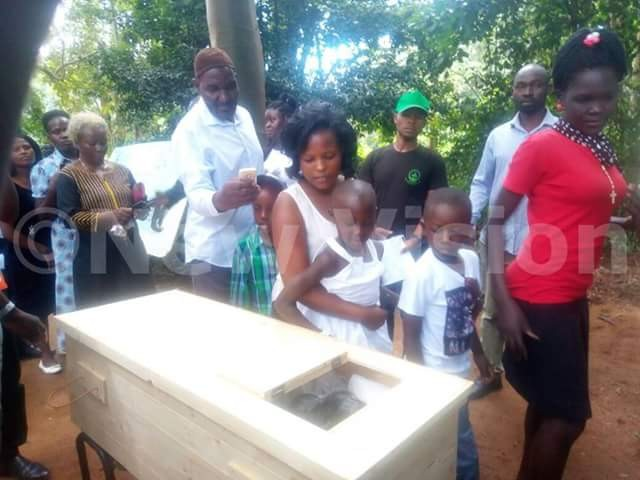 Beloved Chimpanzee laid to rest in casket at Uganda Wildlife Conservation Centre