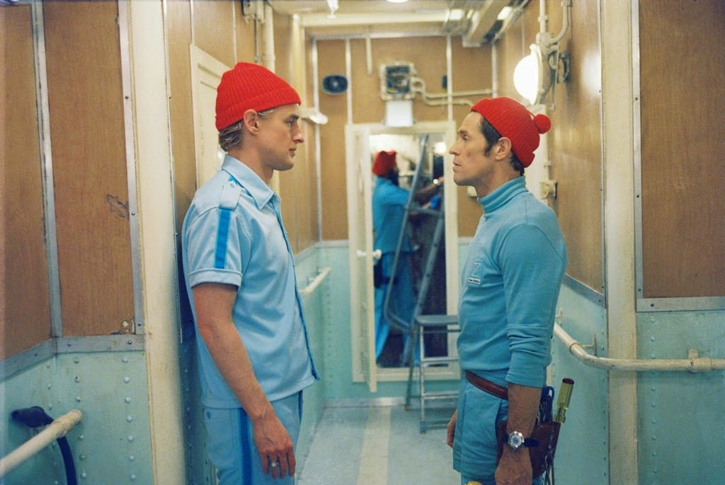 the life aquatic with steve zissou owen wilson willem dafoe