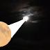 Limoeirenses prestigiam eclipse total da Lua
