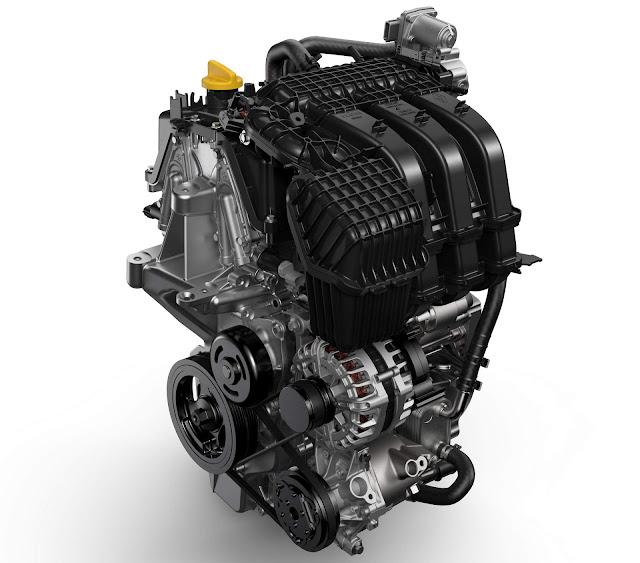 Novo Renault Sandero 2017 - motor
